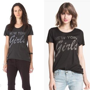 ZOE KARSSEN New York Girls cotton/modal T-shirt